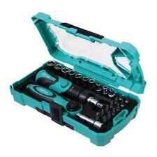 "ProsKit SD-2316M 26 Piece 1/4"" Drive Socket Ratchet Screwdriver Hand Tool Set"