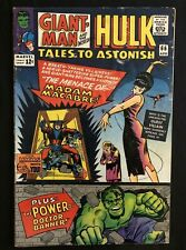 """Tales to Astonish #66 (1965) MADAM MACABRE! """"THE POWER OF BRUCE BANNER!"""" DITKO!"""