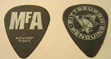 CHIMAIRA MFA Guitar Pick Pittsburgh Penguins Black w White Lettering