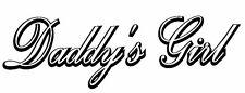 Daddy's Girl - Window sticker Laptop/Car/RV/Truck/RV/Quad/Outdoor Vinyl Decal