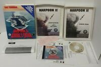 HARPOON 2 II ADMIRAL'S Edition Big Box PC Game 1996 Mint Disc Complete Working!