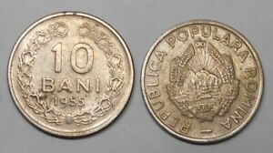 ROMANIA 10 Bani 1955