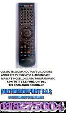 TELECOMANDO COMPATIBILE CON DECODER PHILIPS DTR 4610    MULTIMEDIAL POINT SAS