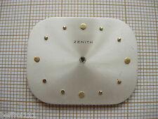 Cadran argenté de forme montre Zenith 錶盤腕錶時 計のダイヤル  Zifferblatt dial n°30