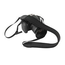 JJC NS-Q dritto nero cinturino a sgancio rapido in Neoprene per fotocamera