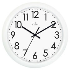 Wall Clock, Acctim Abingdon Wall Clock, White