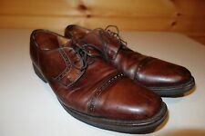 Allen Edmonds Perry Brown Oxford Dress Shoes 11 D Made USA