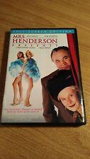 Mrs. Henderson Presents (DVD, 2006, Full Frame Version) ~ JUDI DENCH BOB HOSKINS