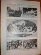 Photos Rose Tournament Pasadena California USA 1914