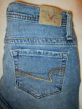 American Eagle Stretch Skinny Flare  Low Womens Denim Jeans Size 0 P x 29