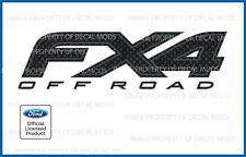 2012 <-> 2014 Ford FX4 Off Road Decals - FCFB - carbon fiber black stickers