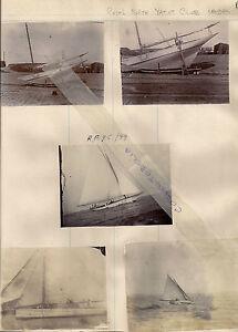 Photograph Royal Forth Yacht Club 1898 R.F.Y.C.