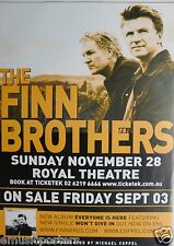 FINN BROTHERS 2004 AUSTRALIAN CONCERT TOUR POSTER - Split Enz, Crowded House
