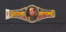 Ancienne  Bague  de Cigare Label    Albert 1er Belgique