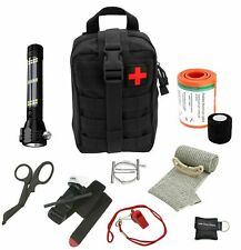 Advanced Military Style First Aid Survival Kit - For Home, Travel, Boat, Car