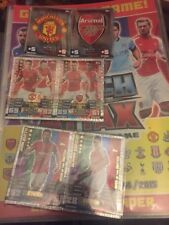 Match Attax 14/15 -455 CARDS INSIDE  BINDER WITH GOLD FABREGAS