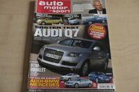1) AMS 08/2006 - Audi Q7 4.2 FSI quattro mit 35 - Nissan Note 1.4 Acenta mit 88P