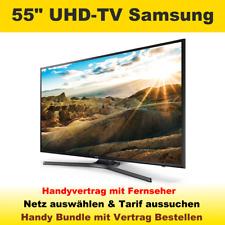 Handyvertrag mit Fernseher Samsung 55 Zoll UHD LED TV Handy Bundle Vertrag Tarif