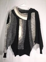 TJW Women's Sweater Vintage By Mervyns Size-S Top Drapped Collar