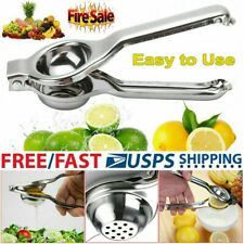 Manual Hand Orange Squeezer Held Lime Lemon Citrus Juice Press Juicer Fruit US