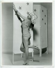 Photo Bert Six - Mamie Van Doren - Epreuve argentique d'époque - 1950's - Pin Up