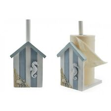 Shabby Chic Nautical style Toilet Roll Storage Holder/Stand