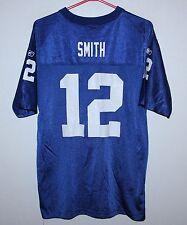 New York Giants NFL shirt jersey #12 Smith Reebok KIDS Size XL