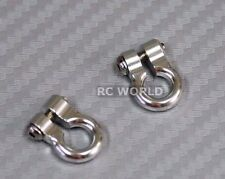 RC 1/10  Scale Truck  Accessories METAL ANCHOR SHACKLES - SILVER - (2)