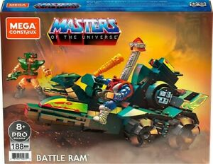 Masters of the Universe Mega Construx Origins Battle Ram MOTU Tri-Klops Mekaneck