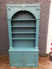 Retro Large Painted Wooden Dresser Bookcase Shabby Chic