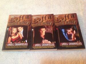 3 X Books Buffy the Vampire Slayer -  Angel Chronicles Vol 1,2,3, Books