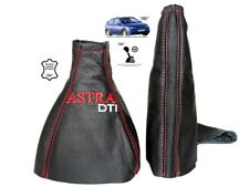 Gear Handbrake Gaiter For Vauxhall Astra G Coupe Leather Astra DTI Embroidery