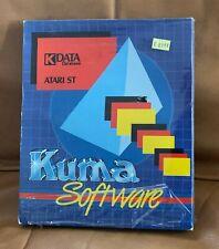 *NEW/SEALED* ATARI ST Kuma Software K-DATA GEM database Word STe VTG COMPUTER