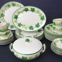 "(1) Only Vintage Franciscan Earthenware Green Ivy Oval Platter 11 1/2"" x 8 1/2"""