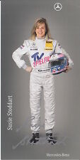 Susie Wolff Signed Mercedes-Benz DTM Promo Card.