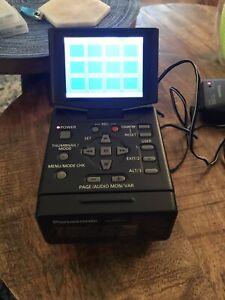 Panasonic AG-HPG20 P2 Memory Card Portable Recorder 129 Hours