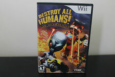 Destroy All Humans! Big Willy Unleashed  (Wii, 2008) *Tested
