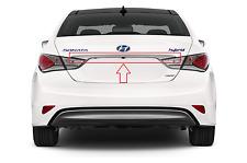 Sonata Hybrid 2011-2015 Rear Trunk Chrome Molding Trunk Lid Trim Finisher OEM
