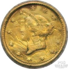 1853 Liberty Head $1 Us Gold Coin 19452