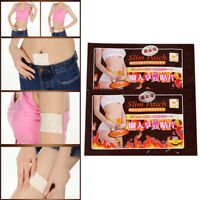 10pcs slimming patch weight loss cellulite fat burn detox slim belly IHS