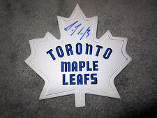 DION PHANEUF Toronto Maple Leafs SIGNED Autographed Jersey Crest Logo w/COA