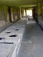 Photo 2000s Latrines at Auschwitz Concentration Camp