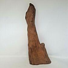 "Vintage Cypress Wood Root Driftwood Sculpture Mid Century Modern 19"" Multi-tip"