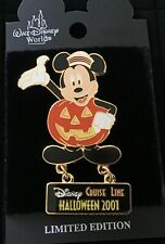 Disney pin Disney Cruise Line Halloween 2001 Mickey Pumpkin