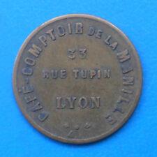 69 Lyon café comptoir de la Manille 2 francs Elie C.100.2