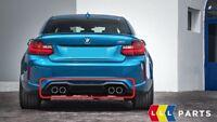 BMW NEW GENUINE M2 F87 REAR BUMPER TRIM PANEL INSERT DIFFUSER 8065275