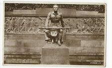 Scotland - Edinburgh, Scottish American War Memorial - Real Photo Postcard