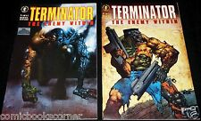 Dark Horse 1991 TERMINATOR THE ENEMY WITHIN #1-4 Complete Limited Series Set
