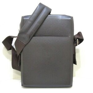 Auth LOUIS VUITTON Bobby M46520 Monogram Glace BA0033 Mens Shoulder Bag
