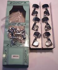 NEW Kluson MS33C Guitar Tuners Machineheads Roundback 3+3